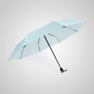 [German kobold] Disney official authorization - rain umbrella - elegant Mickey - blue