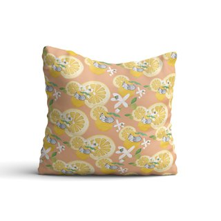 [Flower Fairy] Grapefruit Flower Girl Pillow