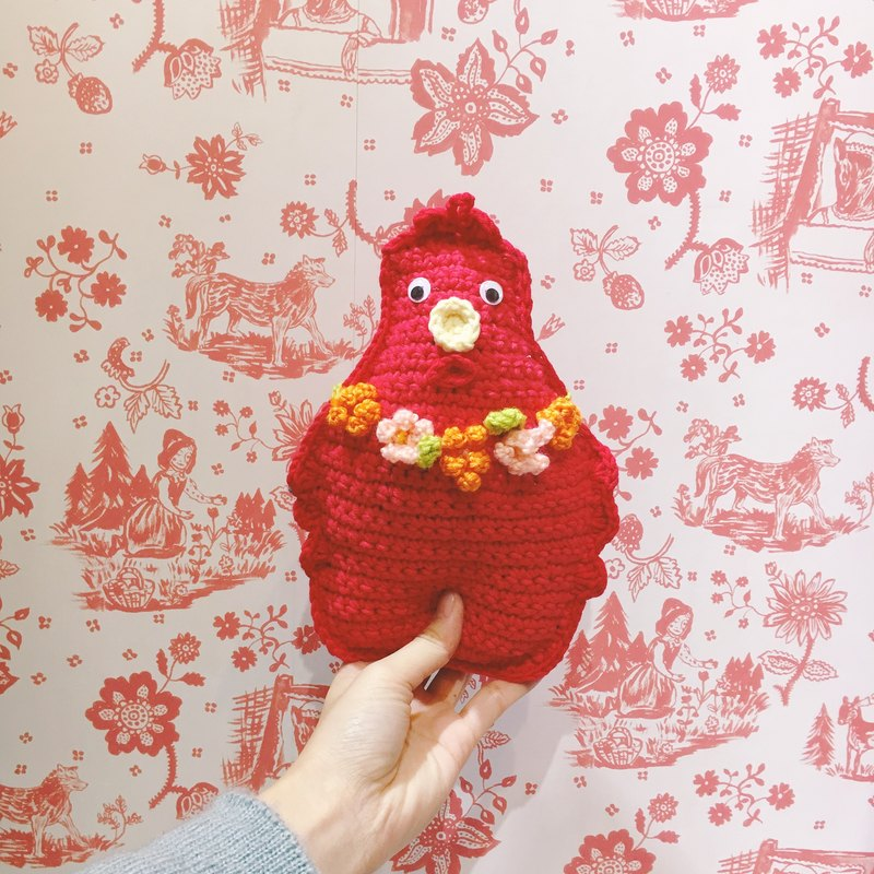 Weave the hen doll,birthday present