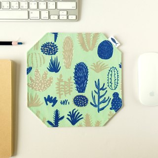 / Succulents - Green / / Mouse Pad / Placemat