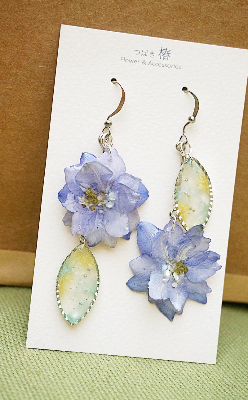 <飞燕> Asymmetrical Dangle Earrings