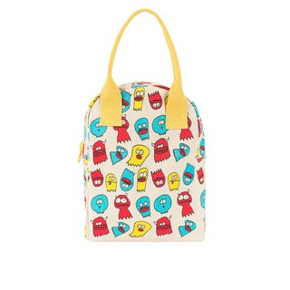 Canada fluf organic cotton [zipper with handbag] - small naughty