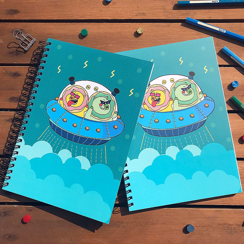 Coil notebook l Bravely