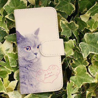 【All models supported】 Free shipping 【Handbook type】 British Shorthair iPhone 8 / iPhone 8 Plus / iPhoneX
