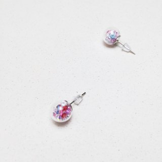 Glass Ball Earrings - Sparkling Flora Flora