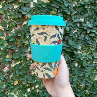 [Natural Bamboo Fiber] Environmental Travel Cup 14oz - William Morris Art Joint Model