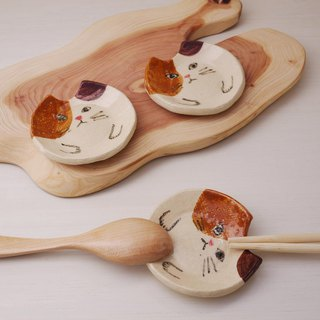 cutlery rest of Cat  【Calico cat】