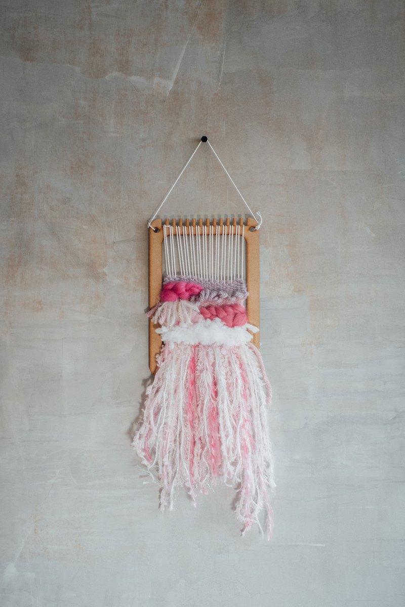 中型梭織板材料包/diy手作/織布機