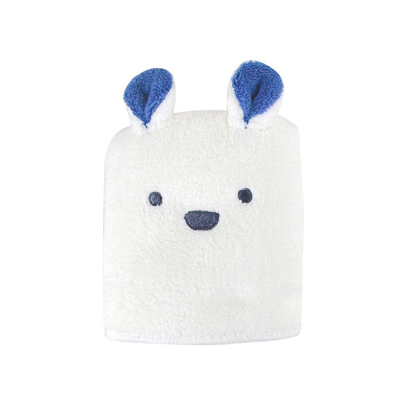 CB Japan bubble gum animal shape microfiber wipes polar bear white