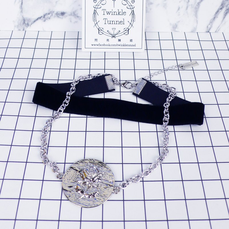 Moonlight Rose double necklace