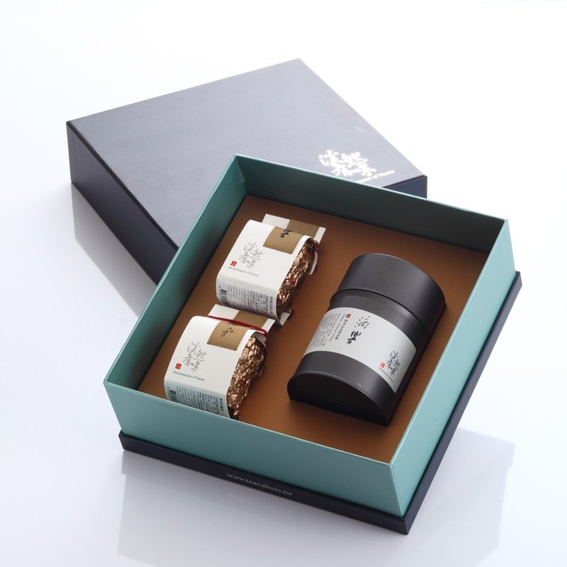 Yu Qing-tea gift box   Renaissance of Taste