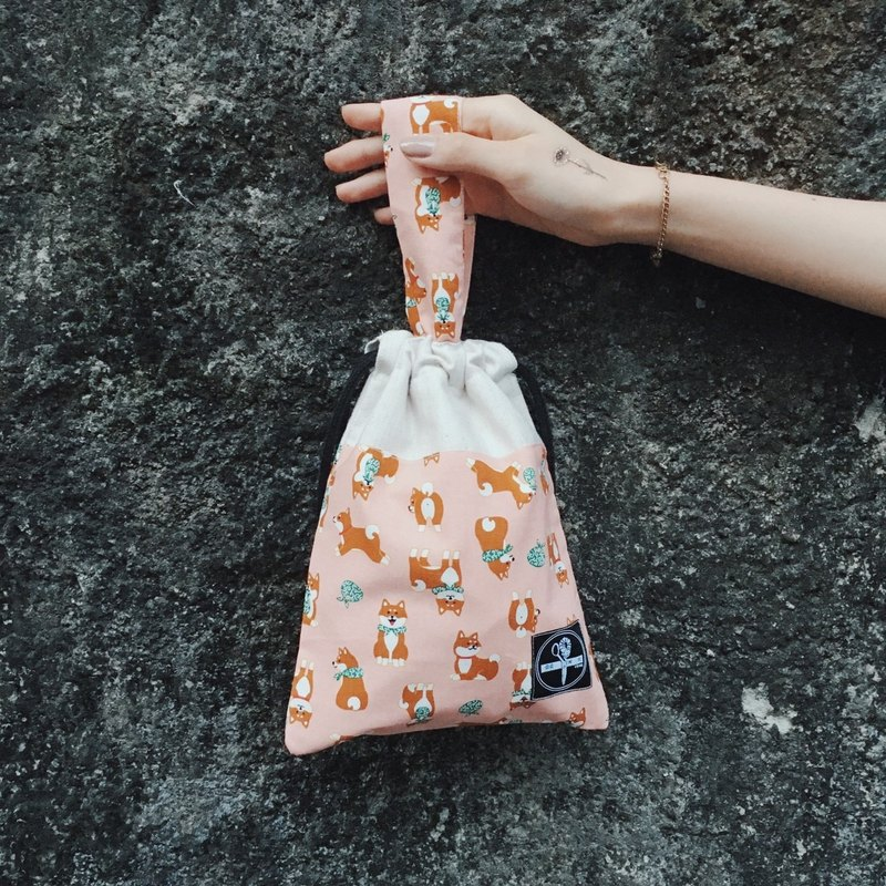 Beam mouth bag / small dogwood pale pink