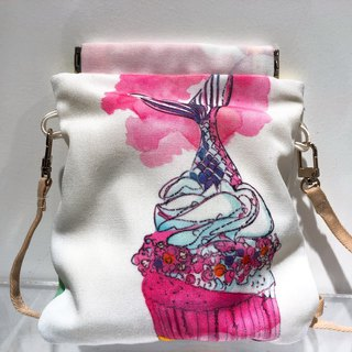 DIP IN CUP CAKE Crossbody Bag