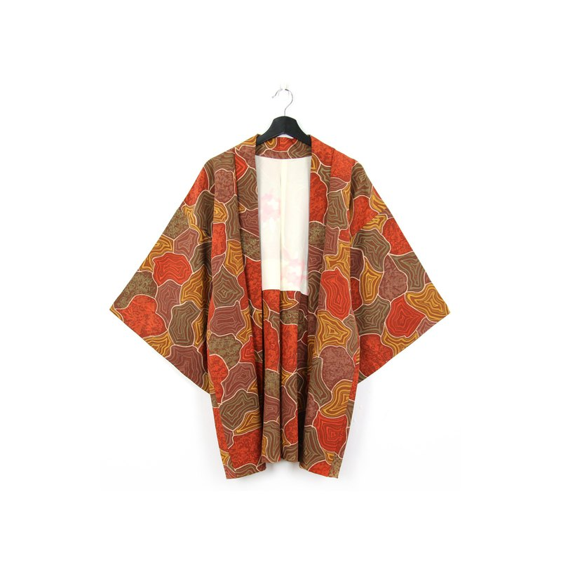 Back to Green-Japan brought back feathery terrain/vintage kimono