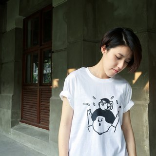 Anniversary Jie Tai - White Summer Short Sleeve