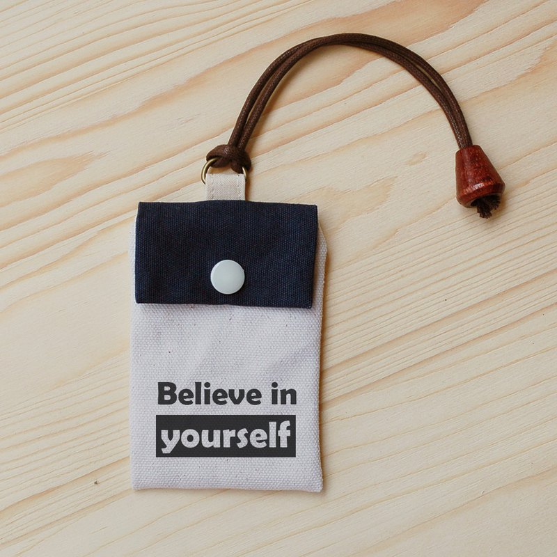 Positive energy card bag - Believe in yourself