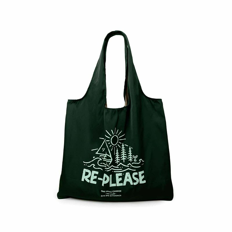 Shopping Bag Re-please (Green)