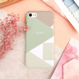 Classic Series - Sapphire Geometry Cube (iPhone.Samsung Samsung, HTC, Sony. Asus Case Cover)