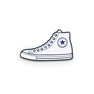 White Sneakers Pin