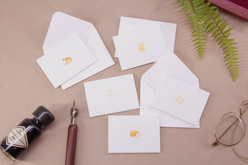 Little Books of Specimens - A set of little cards