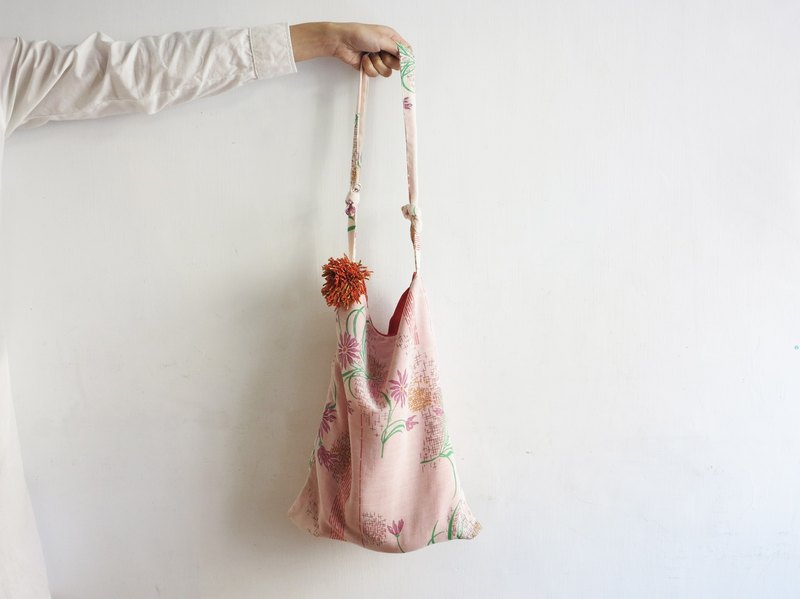 Breathable flower bag / MUDO MOTTO hand-made cloth