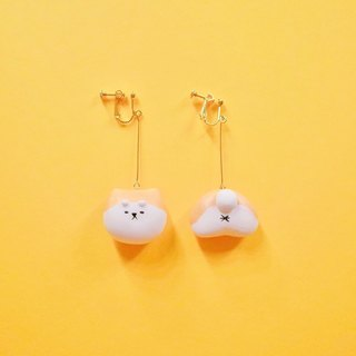 Elegant っ て Chicken Dog Dumets - Earrings (Ear / Ears)