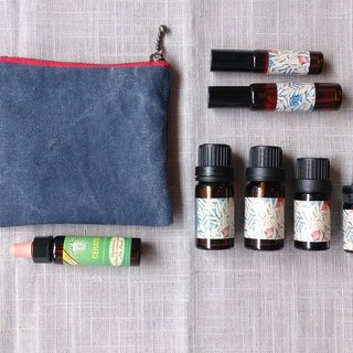 Double denim bags Oil (Body Pack)