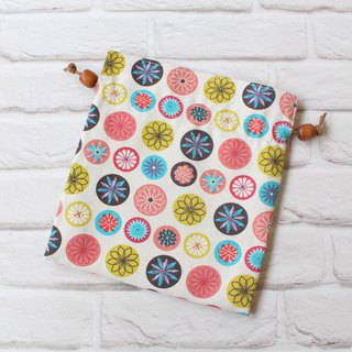 Japanese style flower bouquet bag storage bag cosmetic bag
