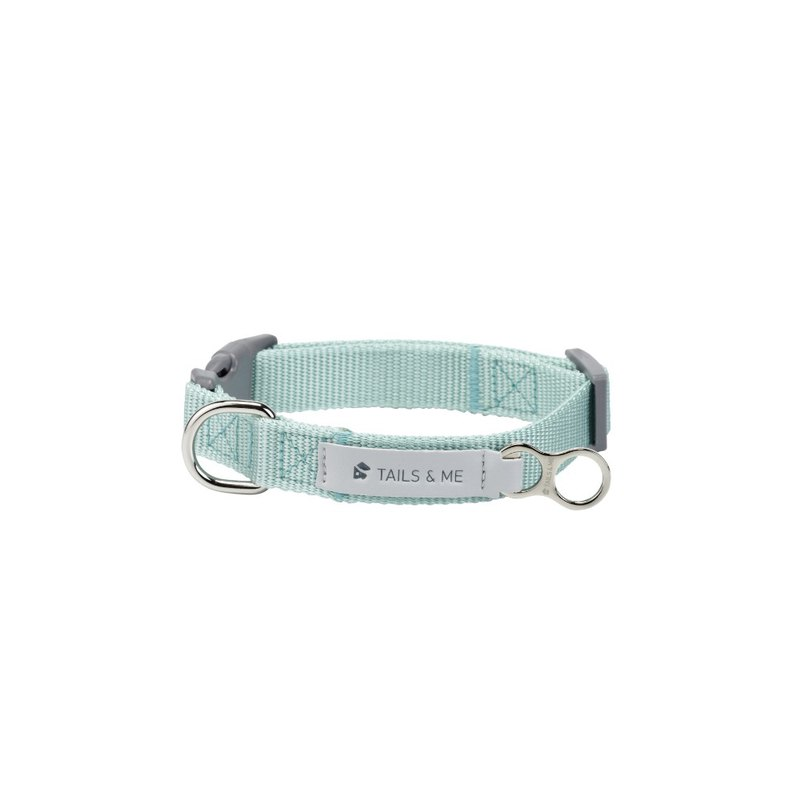 [Tail and me] classic nylon belt collar mint M