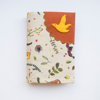 Singapore Botanicals - Fabric Passport Cover