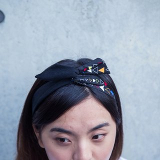 Soft wire hair band headband ::: Matisse (black) ::: [small amount]