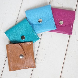 [As] Macaron leather purse