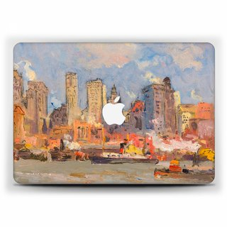 Macbook cover Macbook Pro 15 New York MacBook Air 13 cover Macbook 11  Macbook 12 Impressionism Pro 13 Retina Macbook 15 Touch bar Case 1809