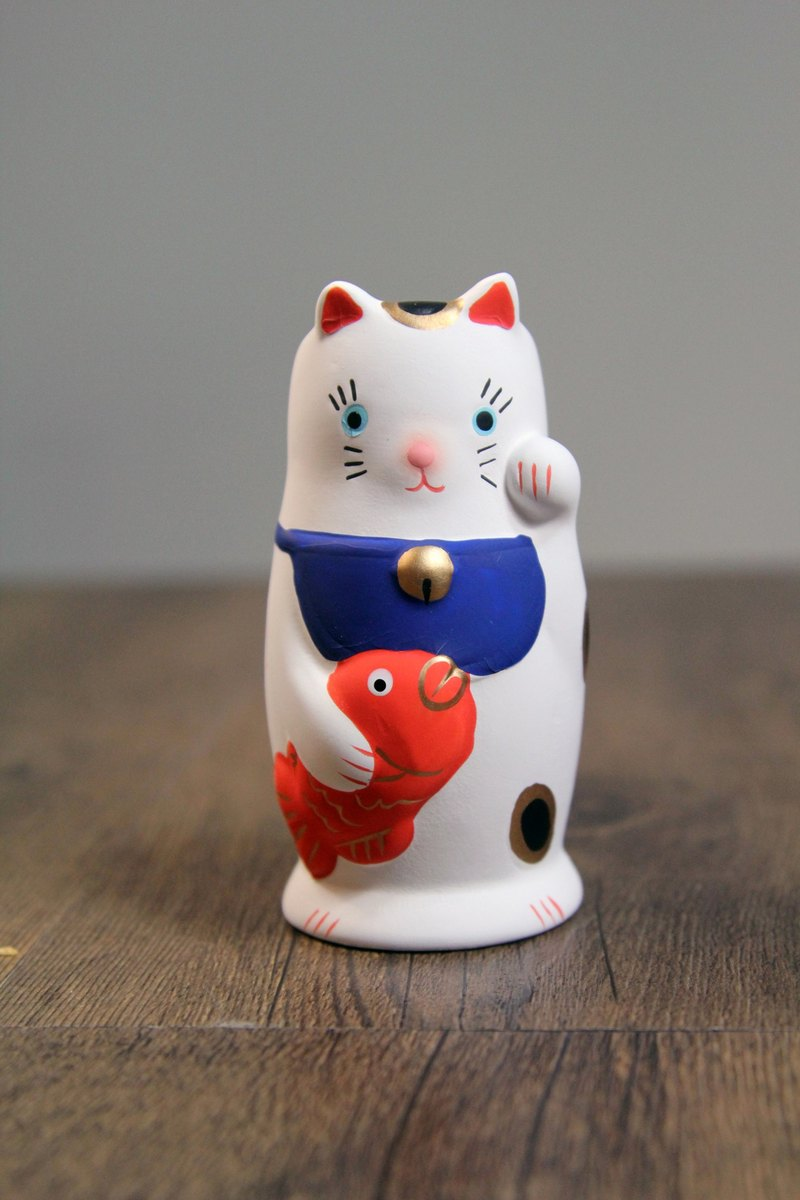SUSS-Japan Magnets Healing Series Table Lucky Cat Pen Holder/Chopsticks Bucket - Birthday Gift Recommendation