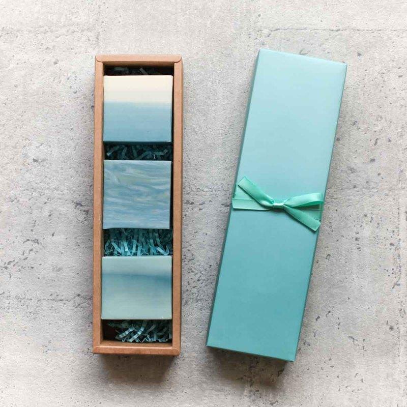 海洋手工皂禮盒 -1組3入