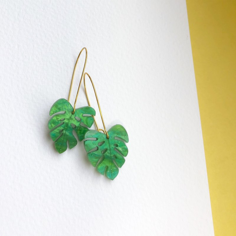 Somerset Earring Greenery