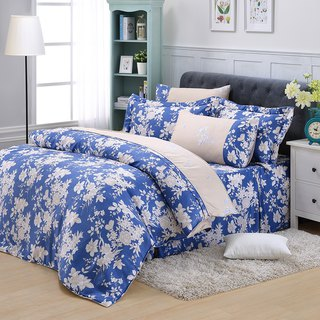 Double size blue dream - Tencel dual-use bedding set of six [100% lyocell] emperor fold