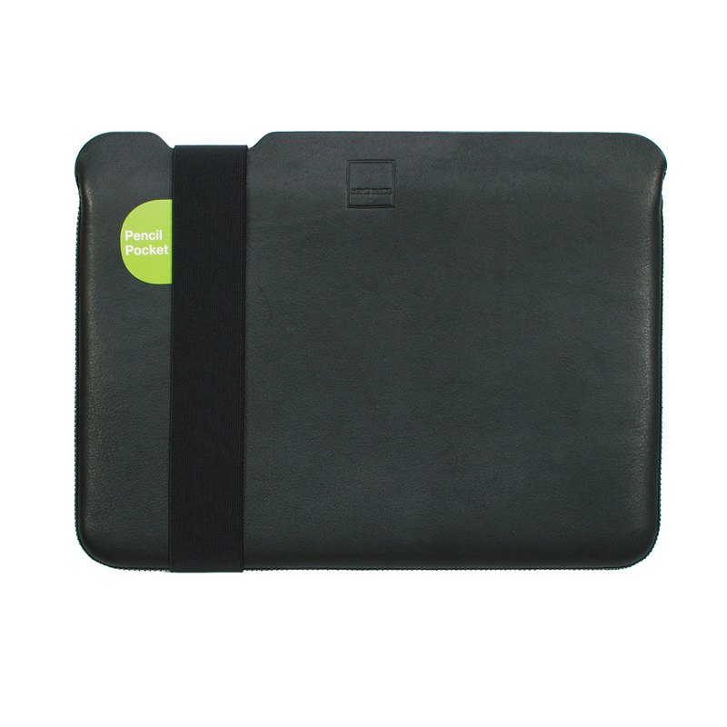 "13"" MacBook Pro/Air (USB-C) Laptop Case - Leather Leather - Black - SMALL"