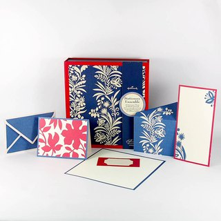 Classic Floral Card Gift Boxes 3 Total 60 Into Style Stickers [Hallmark-Box Card / Multipurpose]