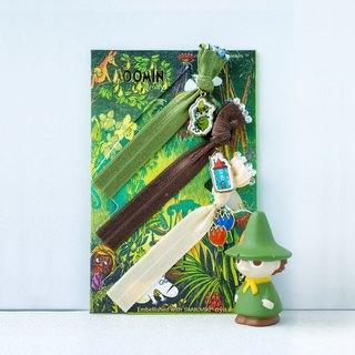 Snufkin set of 3 hair accessories