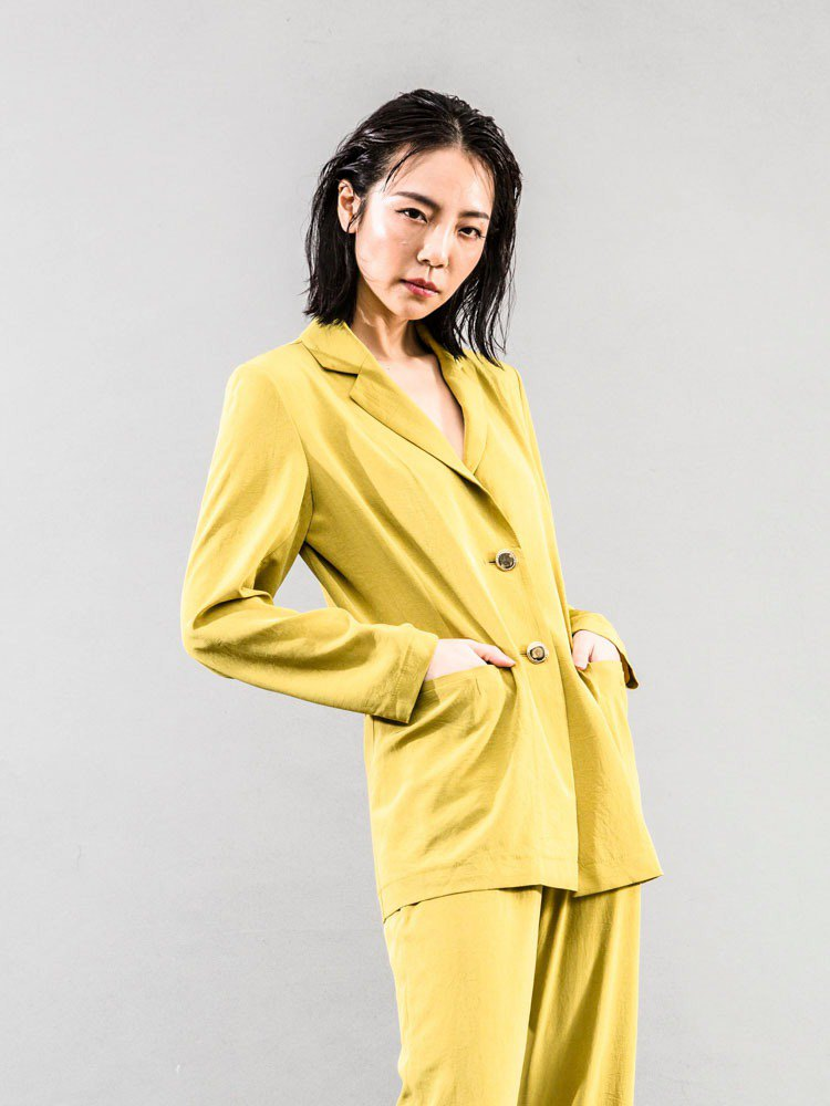 Malwine 2019summer Summer Collection Royal Yellow Jacket