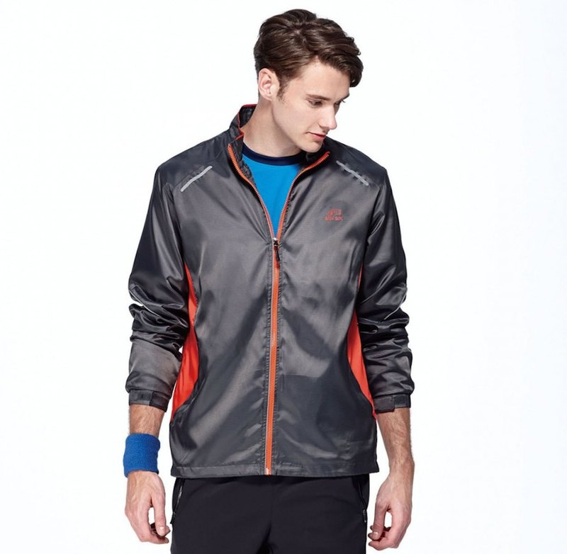 Black anti UV sports jacket