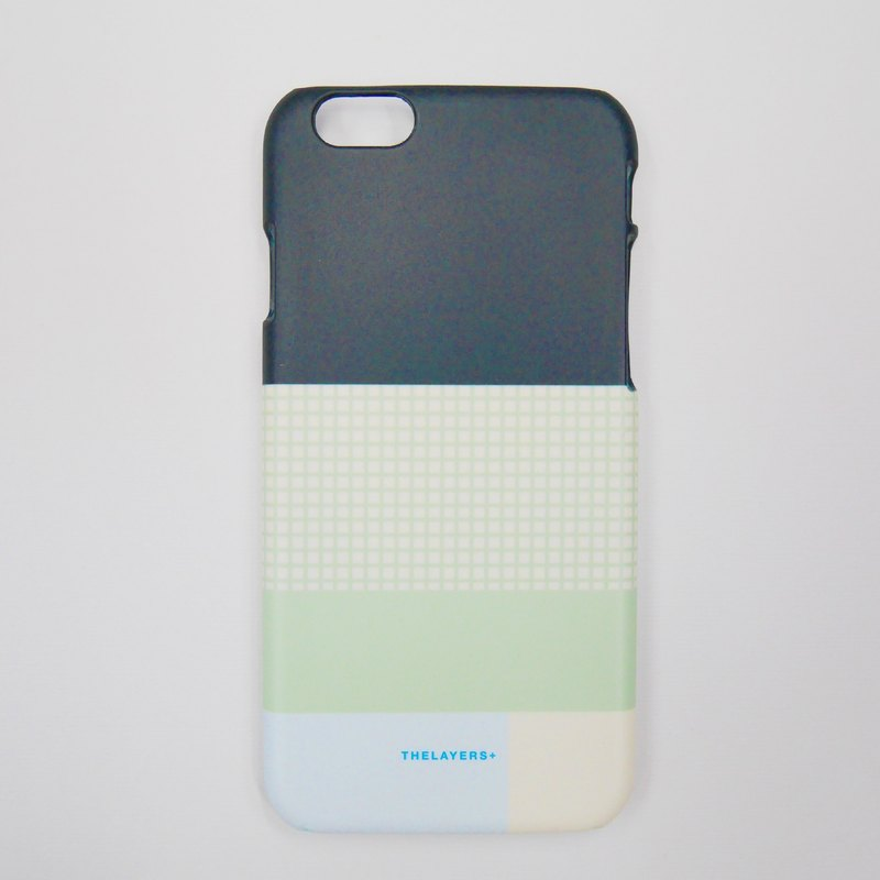 Grid Green Minimalist GRAPHIC PRINT - GRIDY MELON iPhone 7 Case