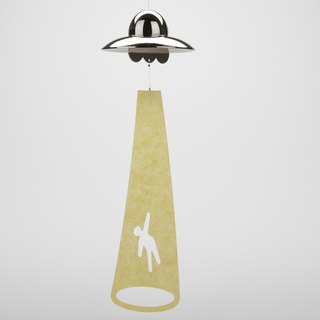 Wind chime (UFO-Silver)