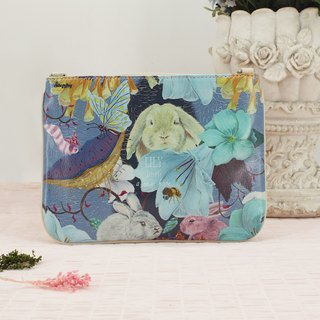 Stephy Designer  Forest Family Art Design Printed Apple Mini Ipad Bag Case Pouch