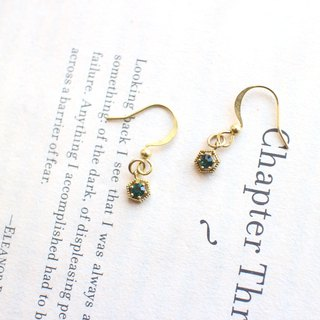 Little wishes- zircon earrings