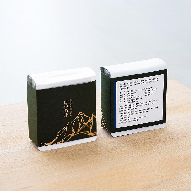 【團購組/免運】百年 生烏龍 / 台灣原葉散茶 4份組