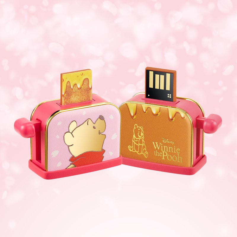 InfoThink Winnie the Pooh Honey Spit Driver's Flash Drive (Sakura Limited Edition) 32GB