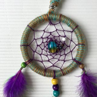 Handmade Dreamcatcher  |  10cm diameter  |  classic weave  |  unique present idea