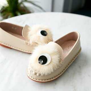 Hairy Ball Lok Fu Shoes - Almond Rice